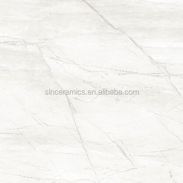 glossy fully polished glazed marble ceramic tile for floor in China