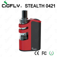 Awesome E cigarette mod Tesla Stealth 100W TC Starter Kit from cigfly