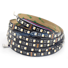 DC24V 4 colors in a led SMD 5050 RGBW Flexible LED strip Non-waterproof safe ribbon LED light 5M 300Leds <strong>RGB</strong>+Warm White