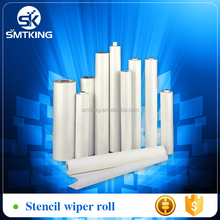 Stencil wiper roll for PCB printing machine/cleaning wiper