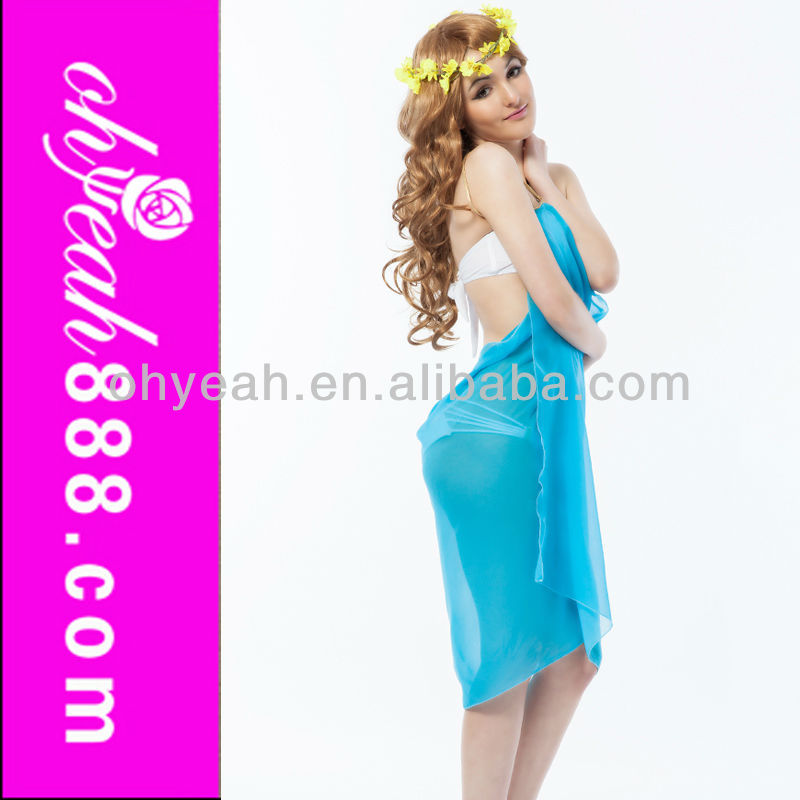 New style spaghetti strap back open ladies beach cover ups