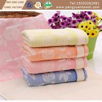 100% cotton Happy Holidays Scrollwork Embroidery Hand Towel