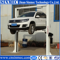 Cheap two post hydraulic car lift 4T