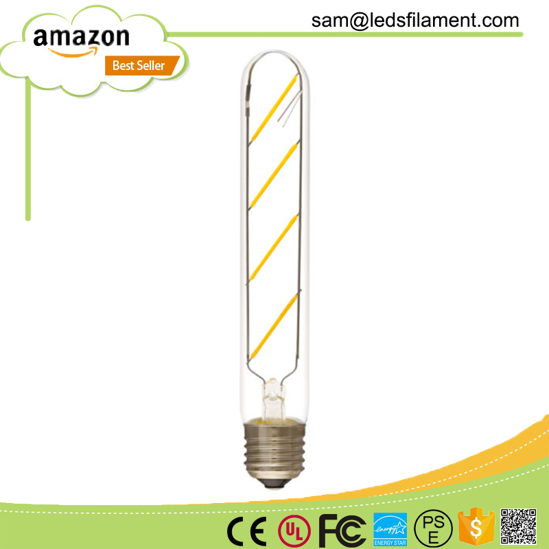 led filament bulb e27 ilamp dimmable T25 UL approved 2200K 4000K new type classic hot sale