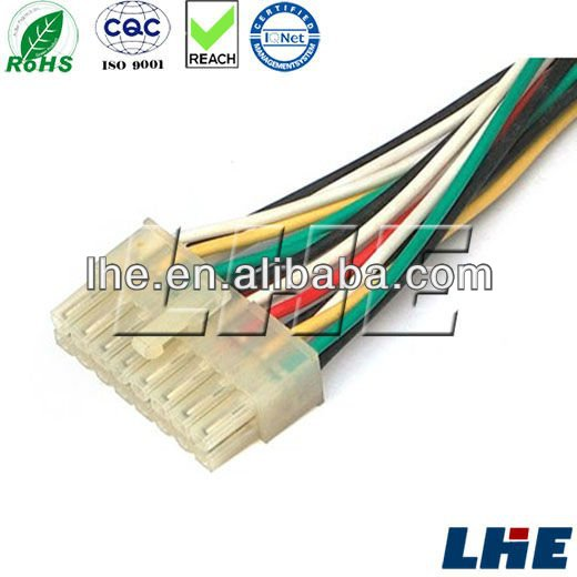 4.2mm 12 pin connector car wire harness