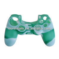 Silicone Cover Skin case For PS4 console/Controller/joystick/gamepad