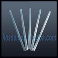High purity Fused Silica / quartz / SiO2 transparent / translucent ceramic tube