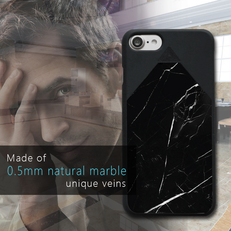 Latest Fashion Natural marble branded accessories cell phone for ip7
