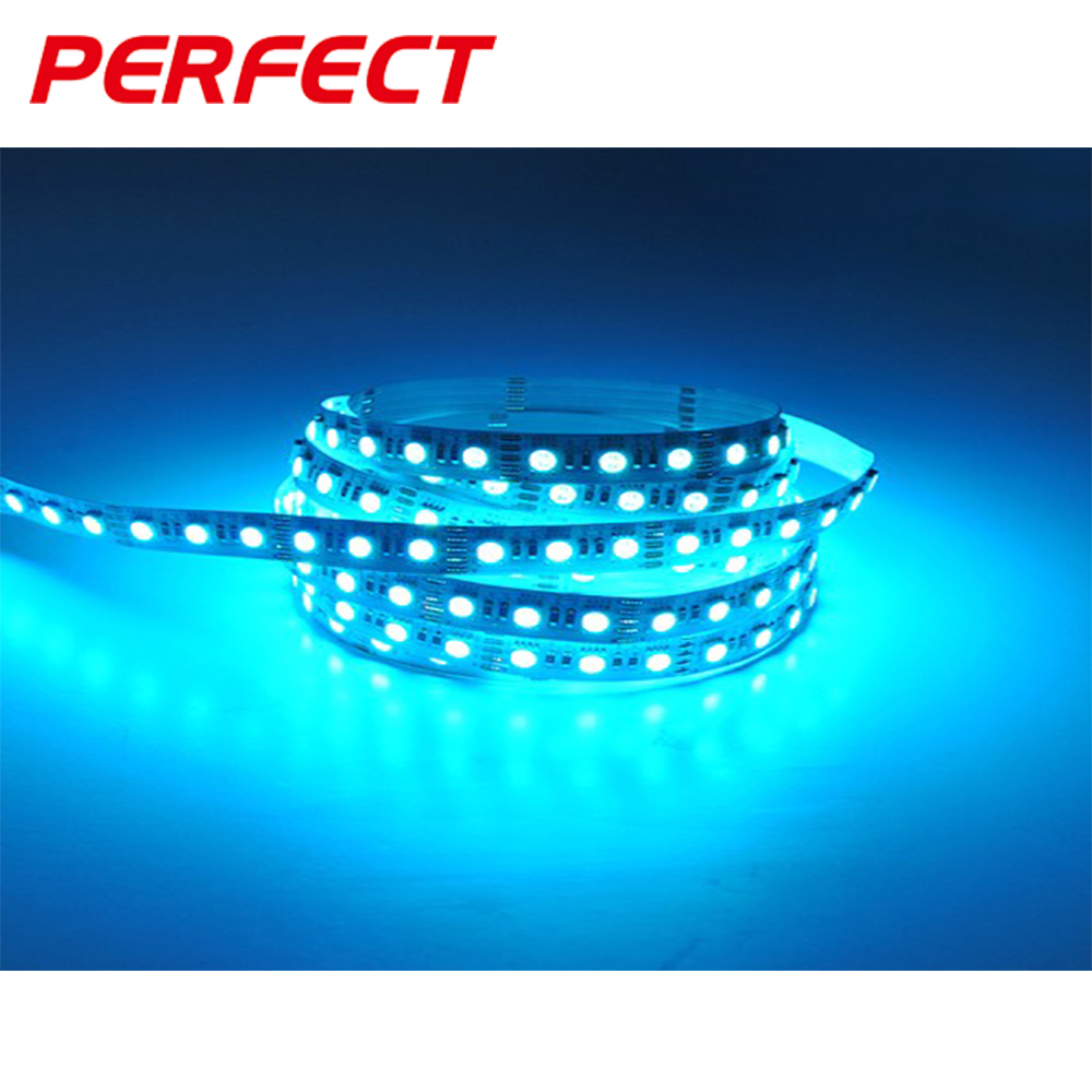 Addressable 5050 LED flexible Magic RGB strips with IC DC 5V 18W/M rgb led strip digital