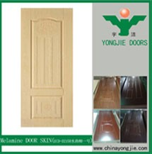 Modern Melamine Door Skin Interior Flush Door Kits, Pre-Hung Or Pre-Fit