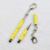 Various color 2 in 1 multifunction metal mini stylus ball point pen for touch screen with key chain for gift