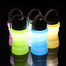 Portable Solar Rechargeable Micro Mini LED Silicone Night Lamp Lights