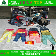 low price Was thin Ladies 3/4 Pants unsorted second hand clothes hot sale in europe