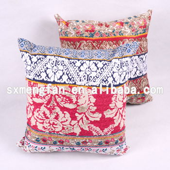 New fashion 100% Cotton Canvas Print cushion covers decorative