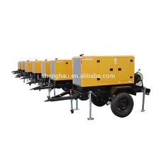 Trailer diesel generators with 2 or 4 wheels ,ce.iso certification