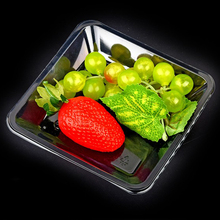 clear pet plastic vegetable tray new design plastic tray wholesale