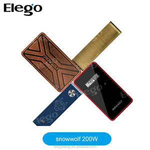 In Stock!!! New Products Electronic cigarette new model 200w Snowwolf box mod