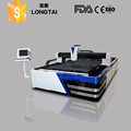 high quality stainless steel fiber laser cutting machine with water chiller