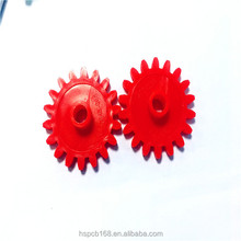 China Alibaba Plastic Spur Gear Multi-color Anti Chemical Acid