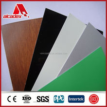 Polyester or PVDF Coating Aluminum Composite Panel ACP Sheets