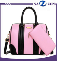 Nice designer color lady stylish hard leather handbag OEM women's custom bags handbag ladies