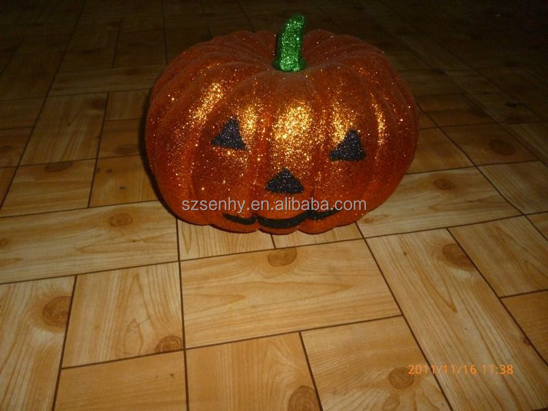 Big Artificial Pumpkins Cool Halloween Decorations
