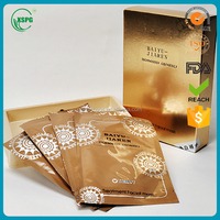 New Disposable Cosmetic Facial Mask Sachets Sheet Plastic Bag