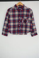 New style ladies' plaid blouses