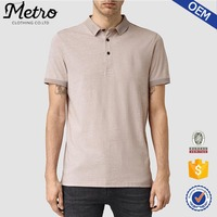 Wholesale Lightweight Jersey Polo Shirts With Ribbed Collar