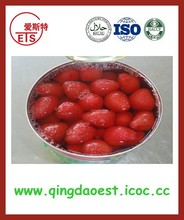 580g/tin supply chinese new high quality and heathy canned strawberry in syrup