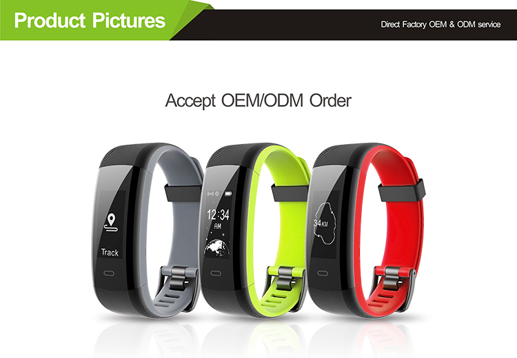 Veryfitpro GPS Smart Watch Bracelet GPS Wearable  Tracker Heart Rate Sensor Health Care Fitness Tracker Sleep Monitor