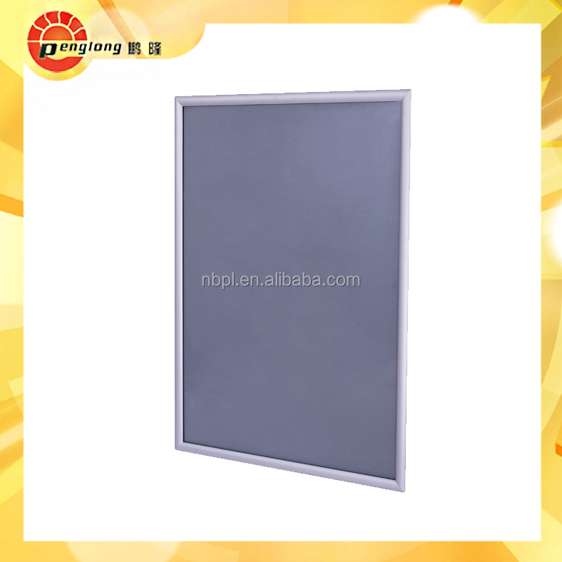 B0/B1/B2 anodized aluminum silver/black/gold snap frame poster frame ...