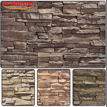 China manufacture artificial faux stone wall panels