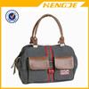 Lady Fashion Canvas and Leather Tote Bag Handbag