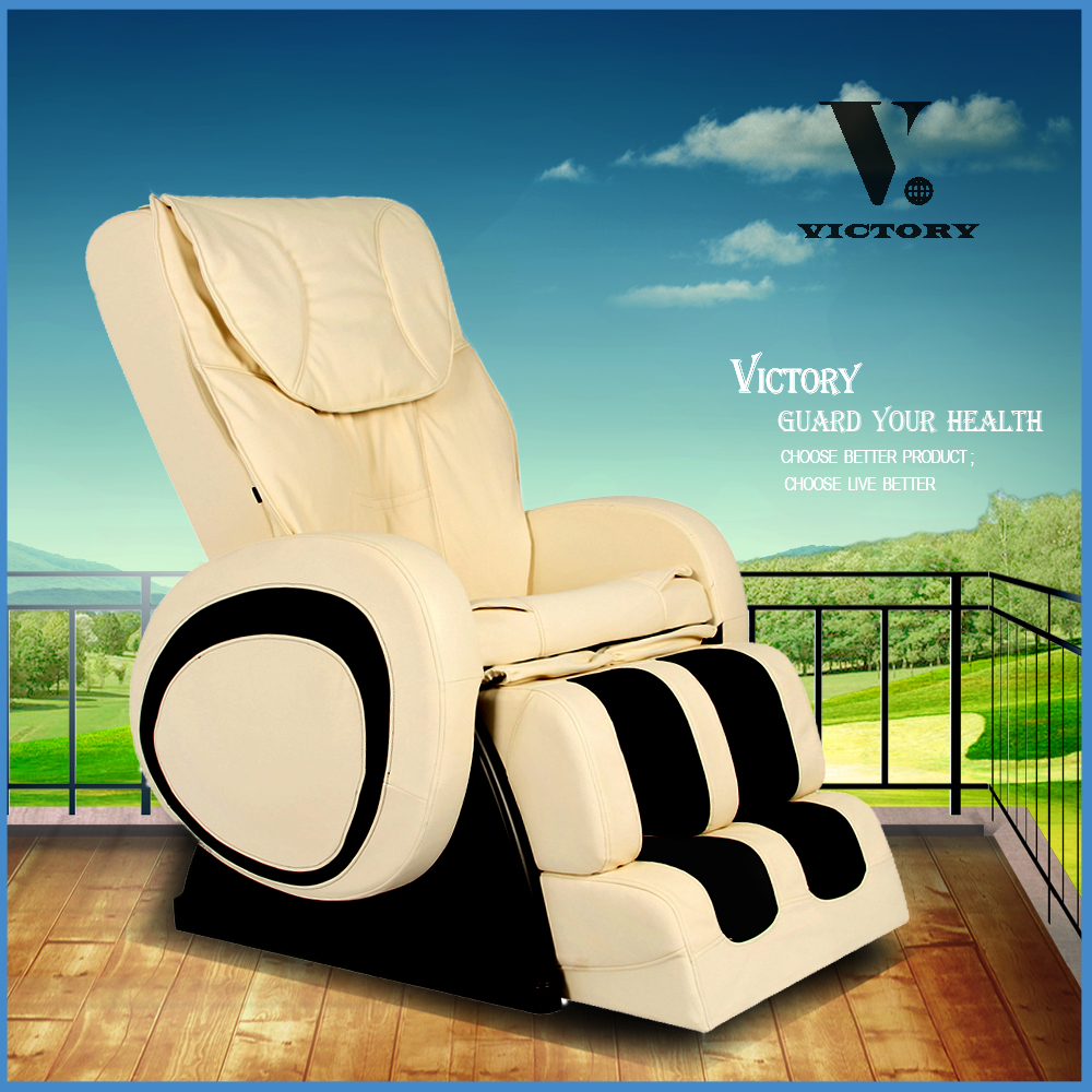 VCT-Y5 Foot Shiatsu back massage commercial chair airbag massage
