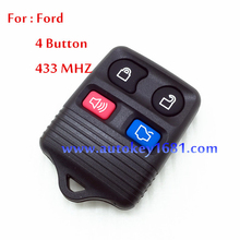 ca keys for ford split 4 button remote key control 315mhz/433mhz best quality