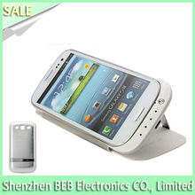 Wholesale external battery charger case for samsung galaxy s3 on promotion