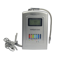 Top Quality Portable 7 colors LCD screen alkaline water ionizer for sale