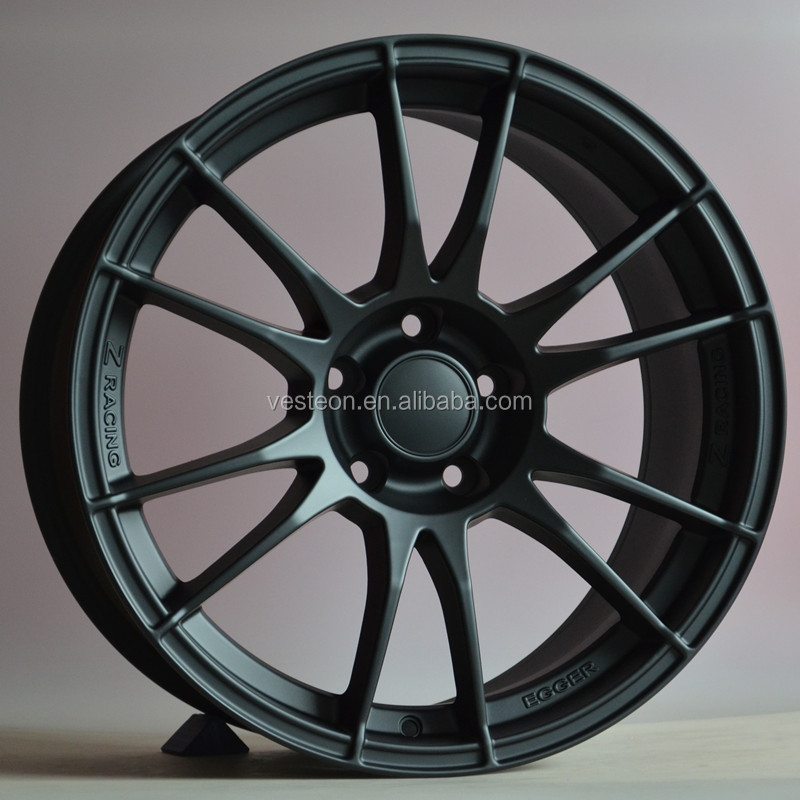Popular design 17'' 18'' inch z racing aluminum alloy wheels for cars