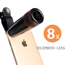 update design in fashion 8x telephoto zoom lens for smart phone