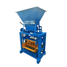 QT4-35B electric/concrete/small scale concrete block making machine