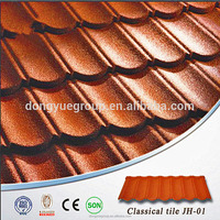 Dongyue Soncap Certificate Nigeria Waviness Stone Coated Roof Tile/Aluminum Zinc Roofing Shingle/Colorful Sand Coated Steel Roof