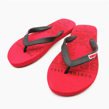 New model beach summer flip flop slipper for men wholesale havaiana slipper with letter printed