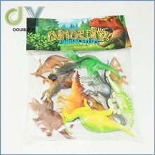 Hot selling cheap plastic dinosaur modle toy, mini dinosaur set toy for promotional wholesale