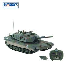 Radio Control 1:16 Tank M1A1 Abrams America War Tank 2.4GHz With Bullet Shooting Function RC Tank