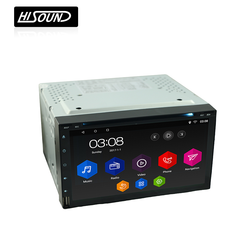 New !New !New 2din universal High quality capacitive screen android 7.1 car stereo dvd player