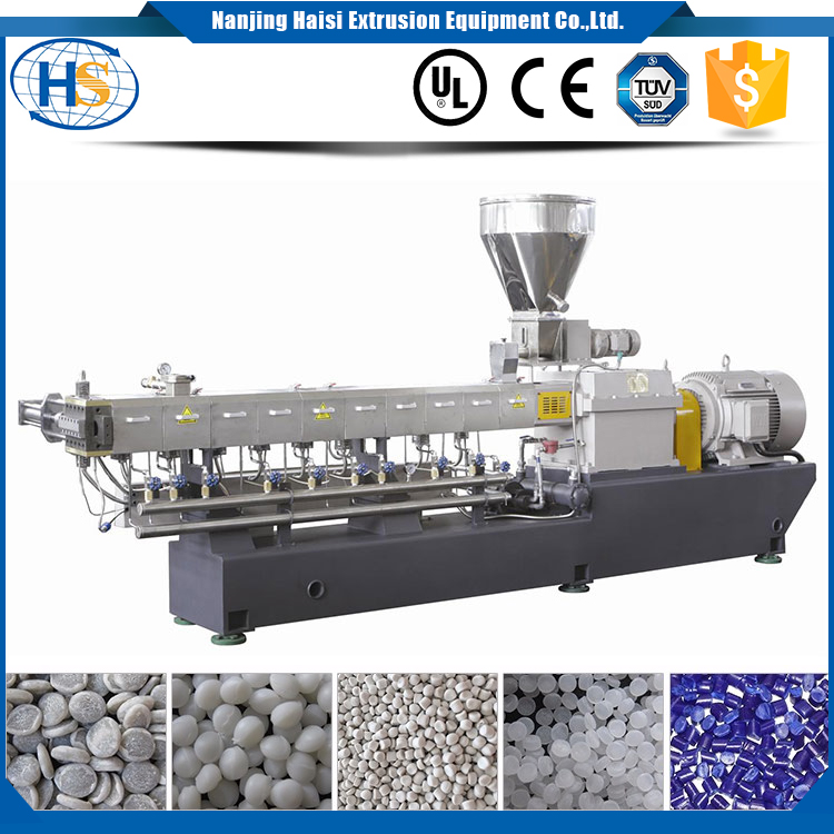 HS plastic machinery extrusion for PET bottle flake granulating making machine