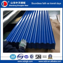 blue color roof tile made in china