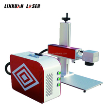 low price laser marker 10W 20W 30W 50W cnc yag 3d portable mini color fiber laser marking machine for metal