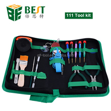 Multi-functional Repair Tool Kit Bag Screwdriver Pliers for Tablet PC ipad Cell Phone